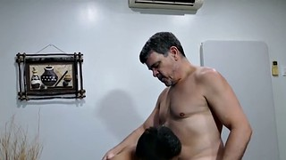 Interracial anal, Mature interracial, Twinks, Mature gay, Asian mature anal, Kitchen anal
