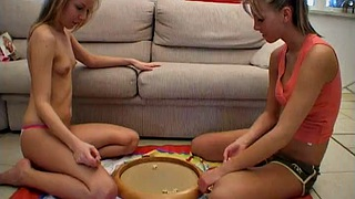 Play game, Dirty lesbian, Lesbian game, Teen play, Tits licking, Play tits