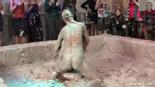 Catfight, Mud, Catfights, Reality, Catfighting, Sexy fight