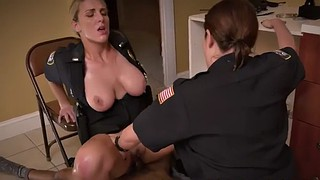 Police, Ebony bbw, Uniform, Bbw milf, Black milf, Bbw huge tits