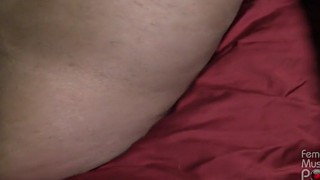 Slave, Big clit, Mask, Muscle clit, Slave pov, Getting slave