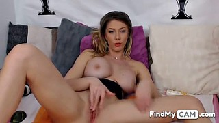 Horny, Home, Big tits solo, Home alone, In front of, Front