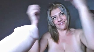Hot stepmom, Stepmom creampie, Creampie stepmom, Two cocks, Bondage blowjob, Tit bondage