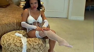 Exotic, Sexy milf, White lingerie, Lingerie milf, Sexy woman