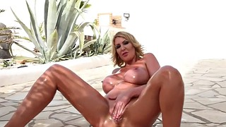 Leigh darby, Tease, Darby, Oil solo, Oiled solo, Darby leigh