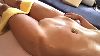 Tessa, Ass massage, Big ass massage, Oil ass, Big tit massage, Big ass oiled