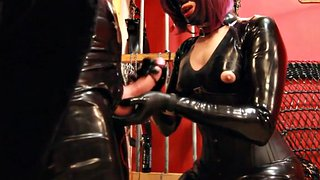 Latex, Mistress, Mistress t, Gloves, Glove, Latex femdom