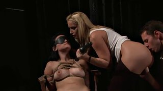 Blindfold, Submissive, Blindfold threesome