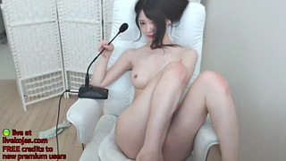 Oiled, Perfect body, Asian big tits, Korean webcam, Koreans, Korean amateur