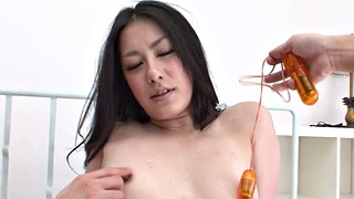 Two cocks, Japanese big cock, Japanese chick