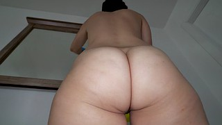 Bathroom, Latinas, Cleaning, Latina maid, Clean, Caroline