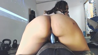 Sybian, Big butt riding, Amateur sybian, Sybian ride