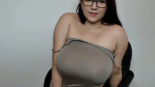 Nerd, Giant, Free, Giant boobs, Boob show, Show boobs