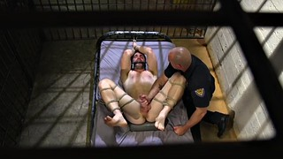 Prison, Edging, Office sex, Submission, Edging handjob, Prisoner