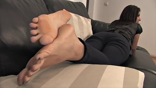 Posing, Footing, Sole, Soles feet, Feet soles, Feet pose
