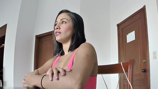 Kitchen, Antonio, Fake tit, Fake big tits, Teen kitchen, Big tits kitchen