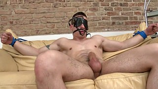 Slave, Pegging, Blindfold, Blindfolded, Sex slave, Pegged