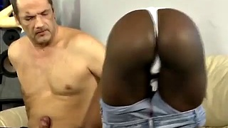 African, Creampie ebony, Black butt, Ebony rough, African creampie, Rough black