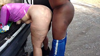Dog, Dogging, Wife bbc, Bbc cuckold, Ebony public, Dogs