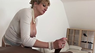Milf, Lady sonia, Sonia, British interracial, Milf lady