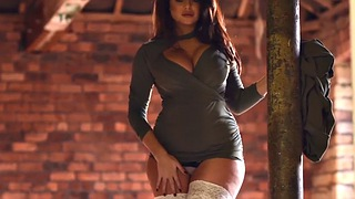 Charley s, Charlotte, Charlotte springer, White stockings, Stocking solo, Stockings solo