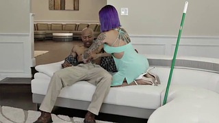 Ebony shemale, Black anal, Grinding, Shemale big cock, Grind, Ebony ts