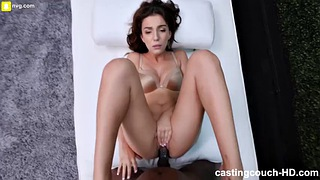 Ebony, First, Colombian, Ebony casting, First casting, First orgasm