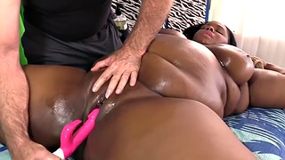 Bbw ebony, Bbw massage, Olivia, Ebony orgasm, Big black tits, Chubby ebony