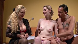 Swingers, Pale, Couples, Young couple, Old couple, Couple threesome
