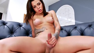 Hard, Hard tits, Tattooed solo, Big tits shemale solo, Hot shemale masturbating, Shecock