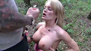 Outdoor, Forest, Forest sex