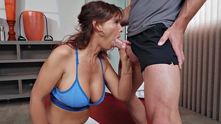 Johnny sins, Sports, Johnny, Redhead mature, Mature redhead, Gym milf