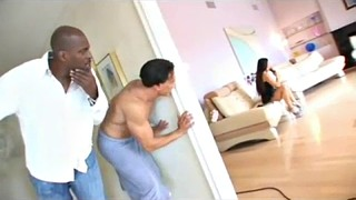 Bbc dp, Ebony dp, Black dp, Black boobs, Big black boobs, Bbc double penetration