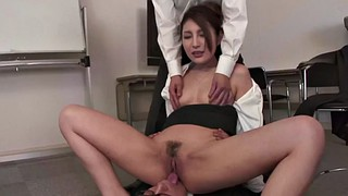 Japanese office, Japanese pantyhose, Casting creampie, Panty job, Job interview, Double creampie