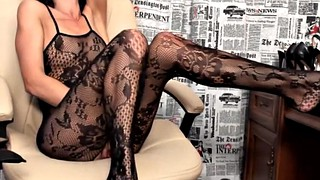 Tease, Fishnet, Leg, Feet tease, Webcam feet, Leggings tease
