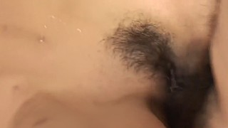 Asian, Money, Old, Japanese old, First time sex, Hairy creampie