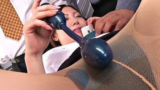 Japanese office, Japanese pantyhose, Office sex, Japanese bukkake, Pantyhose sex, Japanese masturbation