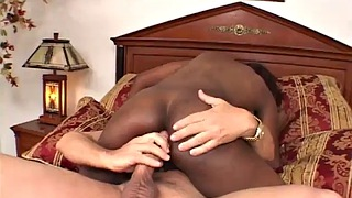 Interracial anal, Ebony interracial anal