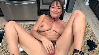 Kitchen, Elexis monroe, Mature hairy, Kitchen sex, Fun, Toy sex