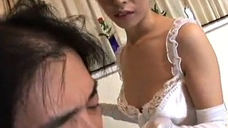Satin, Gloves, Glove, Cum eating, Handjob pov, Making