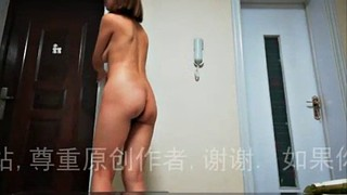 Chinese, Standing, Standing doggy, Chinese amateur, Standing doggy style, Chinese doggy