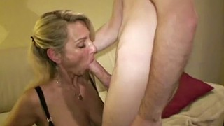 German, Big tits, Young boy, Seducing, Teen boy, Milf boy