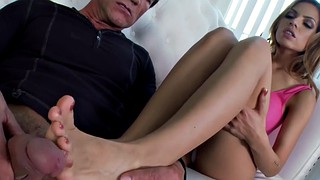 Footjob, Footjobs, Latina feet, Footjob cumshot, Handjob feet, Latina handjob