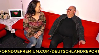 Mature bbw, German bbw, Reporter, Mature chubby, Chubby blowjob, Chubby german
