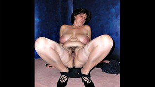 Mature compilation, Granny compilation, Slideshow, Compile