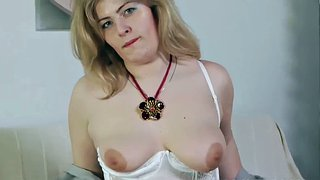 Chubby, Spit, Housewife, Spitting, Wife threesome, Horny