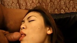 Tied, Wake up, Asian threesome, Bondage blowjob, Asian tied, Wake