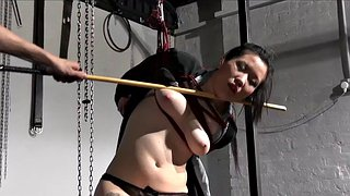 Devil, Deville, Asian slave, Teen slave, Asian whipping, Devils