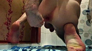 Auto, Cum in ass, Huge cum, Fisted, Gay fisting, Big ass sex