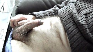 Edging, Watching porn, Wank, Edge, Watch porn, Hairy panties